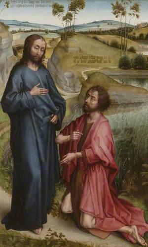 Christ Recognised by Saint John the Baptist