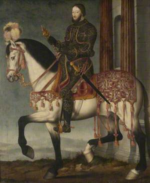 François I of France (1494–1547), on Horseback
