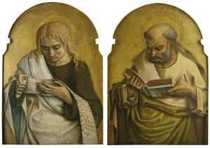 Two Evangelists (Saint John the Evangelist and the Author of Another Gospel)