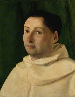A Young Camaldolese or Cistercian Monk