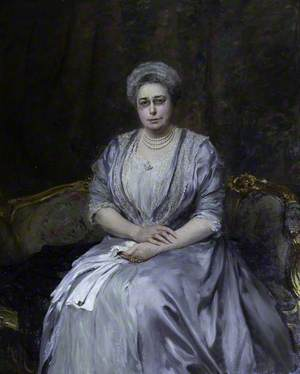 Fanny Elizabeth Benjamin (d.1927), Lady Samuel, Later Viscountess Bearsted