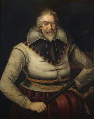Sir Peter Legh IX (1563–1636), Aged 68