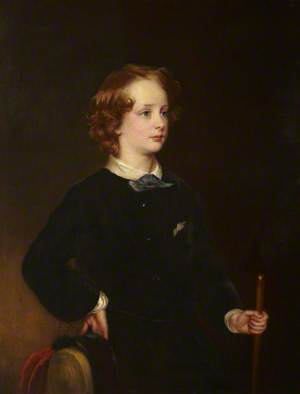 Charles Stewart Vane-Tempest-Stewart (1852–1915), Viscount Seaham, Later Viscount Castelreagh and 6th Marquess of Londonderry, as a Young Boy
