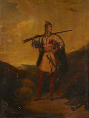 Frederick William Robert Stewart (1805–1872), Viscount Castlereagh, Later 4th Marquess of Londonderry, Wearing Hunting Costume