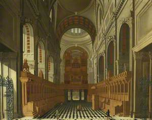 The Choir of St Paul's Cathedral Looking West
