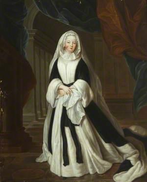 Louise-Françoise de Bourbon (1673–1743), Mademoiselle de Nantes, Duchess of Bourbon-Condé, as Madame la Duchesse douairière