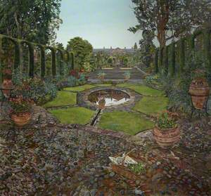 The Spanish Garden, Mount Stewart, County Down