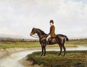 Sir Thomas George Fermor-Hesketh (1849–1924), 7th Bt, of Rufford, on His Horse 'Captain Jack'
