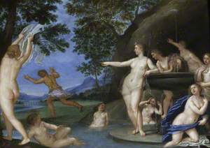 Actaeon Fleeing from Diana and Her Companions