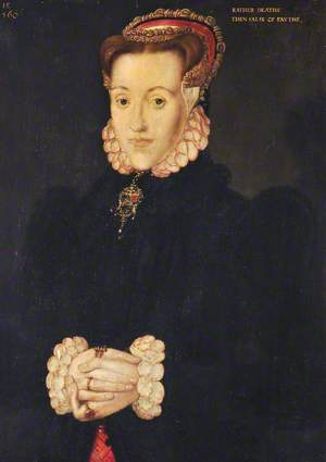 Portrait of a Lady, Called 'Anne Ayscough or Askew (1521–1546), Mrs Thomas Kyme'