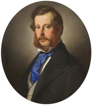 Wilbraham Egerton (1832–1909), Earl & 2nd Baron Egerton of Tatton, Aged 22