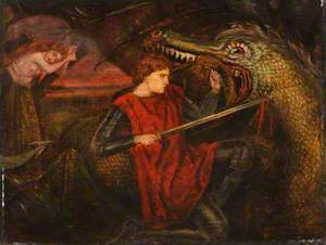 The Theodore Watts-Dunton Cabinet: Saint George and the Dragon