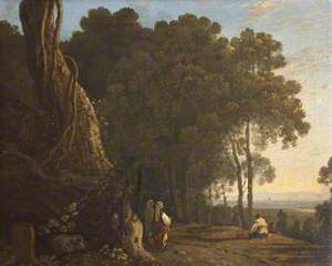 Gypsies at the Entrance to a Wood