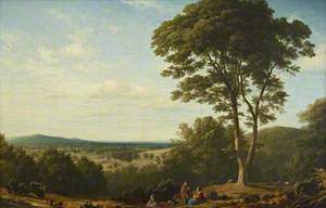 View of the Grounds at Ashridge, Hertfordshire