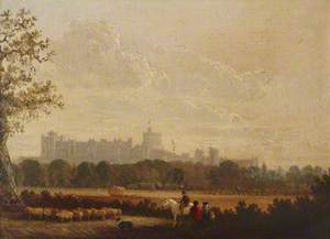 Distant View of Windsor Castle