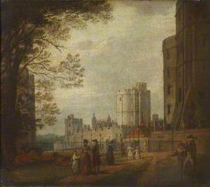 The Winchester Tower, Windsor Castle, 1770