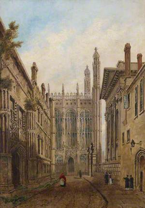 Old King's Gate, King's College Chapel, Cambridge