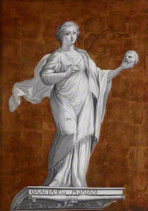 Thalia, the Muse of Comedy and Pastoral Poetry