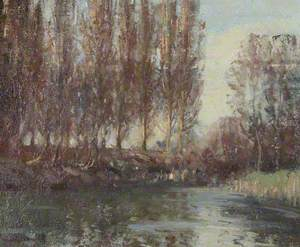 The Mill Pool, Anglesey Abbey: Winter 1949