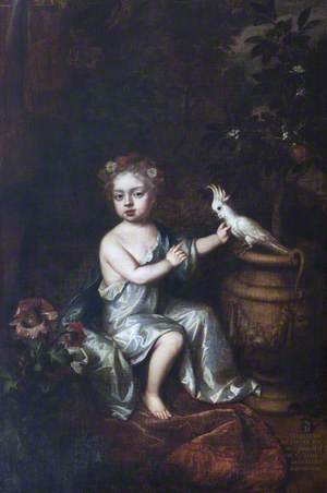 Elizabeth Brownlow (1681–1723), Later Countess of Exeter, as a Child