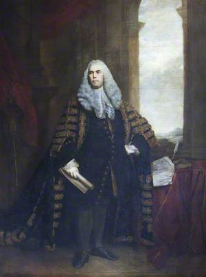 The Honourable Sir John Cust (1718–1770), 3rd Bt of Pinchbeck and 6th Bt of Humby, in Speaker's Robes