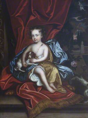 Alicia Brownlow (1684–1727), Lady Guilford, as a Child