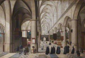 An Imaginary View of Antwerp Cathedral