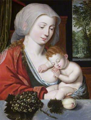 The Madonna and Child with Grapes