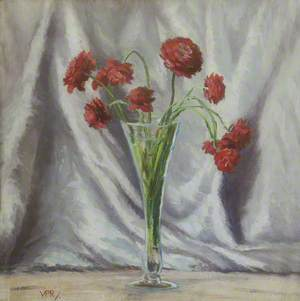 A Vase of Carnations