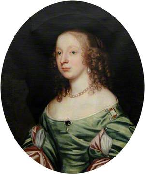 Frances Strickland (1624–1676), Mrs Barrington Bourchier (?)