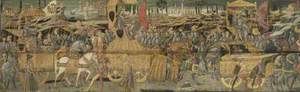 Three Kings Drawn in Chariots in a Triumphal Procession