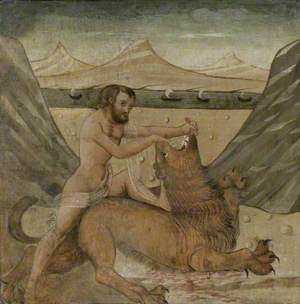 Hercules Slaying the Nemean Lion (The First Labour of Hercules)
