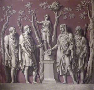 The Emperor Constantine Sacrificing to Diana