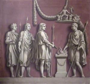 The Emperor Trajan Sacrificing to Mars Victorious