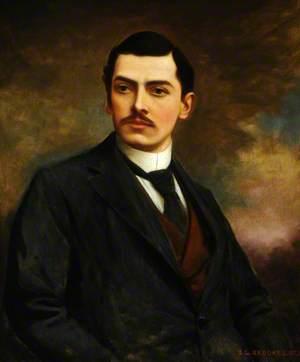 A Posthumous Portrait of Richard Fynderne Harpur Crewe (1880–1921)