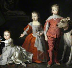 The Three Sons of Sir Henry Harpur, 5th Bt: John Harpur (1734/1735–1745); Henry Harpur (1739–1789), Later Sir Henry 'Harry' Harpur, 6th Bt; and Charles Harpur (1741–1770), Later Major Charles Harpur