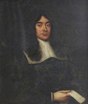 Portrait of an Unknown Gentleman Holding a Letter