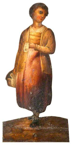 Girl Holding a Basket