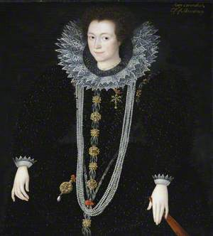 Possibly Anne Keighley (d.1598/1599), Mrs William Cavendish