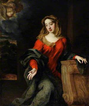 Possibly Lady Mary Butler (1646–1710), Duchess of Devonshire, as the Virgin Annunciate