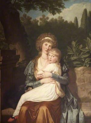 Elizabeth Drummond (d.1818), Lady Hervey, and Her Daughter Elizabeth Catherine Caroline Hervey (1780–1803), Later The Honourable Mrs Charles Rose Ellis