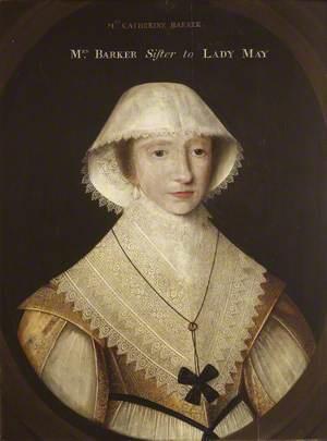 Catherine Poley (1600–1665), Mrs Edward Barker