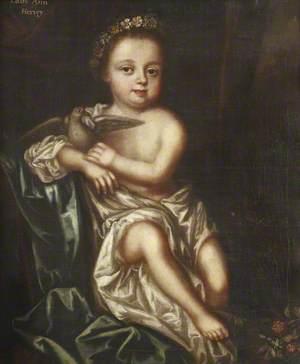 Lady Anne Hervey (1707–1771), as a Child