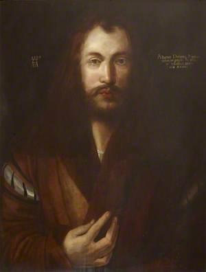 Self Portrait in a Fur Coat, Aged 28