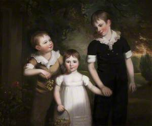 Francis James Curzon (1803–1851); Mary Curzon (1806–1868), Later Mrs John Beaumont; and Alfred Curzon (1801–1850)