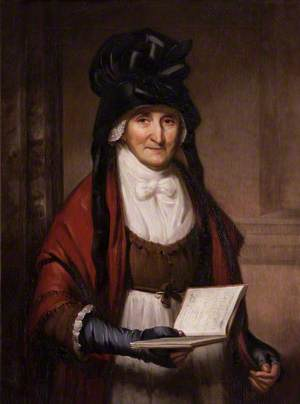 Mrs Garnett (1724–1809), in the Marble Hall