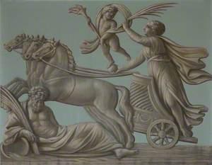 Aurora Riding Her Chariot