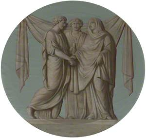 A (Grecian/Roman) Wedding: The Marriage (The Farewell of Alcestis and Admetus with Hestia)