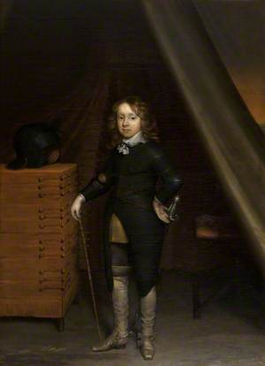 Hendrik van Brederode (1638–1657), Later 17th Lord of Brederode and Vianen, Aged 10