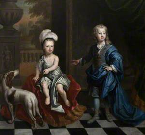 David Colyear (1698–1728/9), Viscount Milsington, and His Brother Charles Colyear (1700–1785), 2nd Earl of Portmore